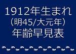 1912年生まれ年齢早見表