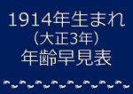 1914年生まれ年齢早見表