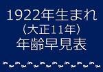 1922年生まれ年齢早見表