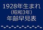 1928年生まれ年齢早見表