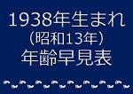 1938年生まれ年齢早見表