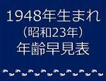 1948年生まれ年齢早見表