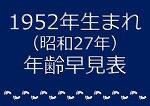 1952年生まれ年齢早見表
