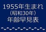 1955年生まれ年齢早見表