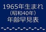 1965年生まれ年齢早見表